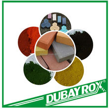 Good Type Iron Red Ferric Oxide Pigments Hollow Blocks Paint Colorants