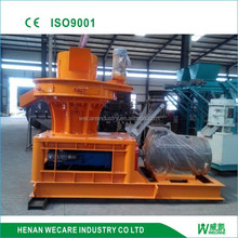 Efficient centrifugal rice husk pellet machine