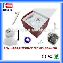 pan tilt wifi portátil inalámbrica oculta más pequeño corte ir cámara ip inalámbrica portátil
