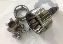 C.V.Joints components inner race/cage/steel balls/clamps