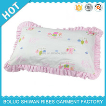 100% cotton interlcok baby pillow, baby pillow wedge, pregnancy pillow