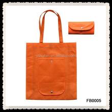 Fashion Printing Portable Eco Bag Waterproof Folding Reusable Nonwoven Bags Shopping Bags Women Handbag