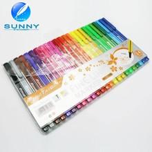 customizable manufacturer multi color triangle fine liner pen promotioanl plastic fine line marker sign pens