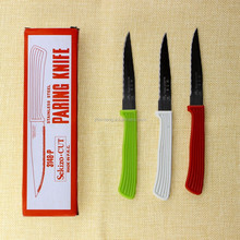Low MOQ Fast Delivery 18/10 Stainless Steel Serrated Steak Knife