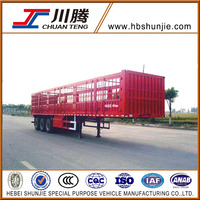 China HBS High quility Stake truck semi trailer