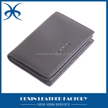 Portable pu leather bag namecard holder business card case 2015 new items