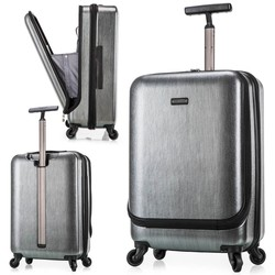 Polycarbonate PC american brand luggage with a pocket