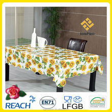 PVC / Vinyl tablecloths wholesale with new designs