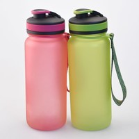 600ml clear bottle,bpa free plastic water bottle manufacturing