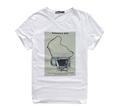 2015 100 algodón con impreso hombres camisetas
