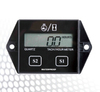 digital inductive tachometer for any gasoline engine motorcycle snowmobile generator