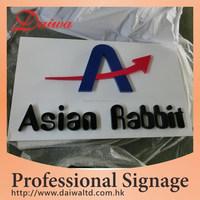 Paint Metal Letters & Base Sign Letters
