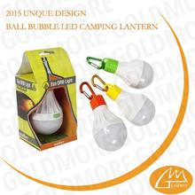 Smart design new arrival pollution-free classic outlook excellent quality plastic camping light bulb with hook