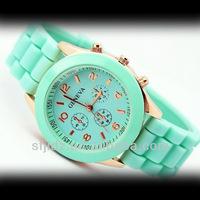 Casual quartz women's silicone fashion watch watch manufacturers