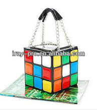 2013 special design personality cute magic cube handbag