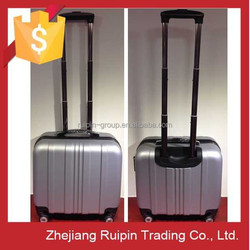 17 inch silver high end multiple laptop travel case