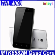 Hot Sale Original THL 4000 MTK6582 Quad Core Cell phone 4.7 inch 1.3Ghz RAM 1GB ROM 8GB 5.0MP 4000mAh Mobile