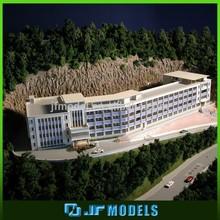 oem modelo casa hecha por el dibujo del cliente