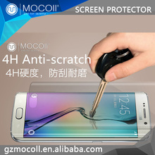 MOCOll Brand 3D full cover for Samsung galaxy s6 edge Coating Cell Phone Glass pet screen protector