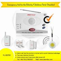 Wireless emergency alert aid for the Elderly / Children/Sick/Disabled, intelligent wireless alarm system with SOS button