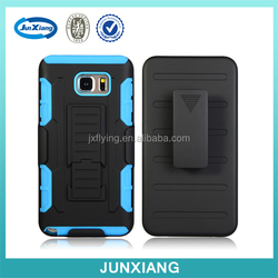 Armor Mobile Phone Case For Samsung Note 5 Silicon+PC Armor Case