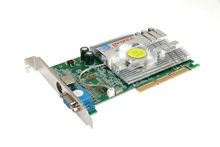 NVIDIA GeForce 7600 GS AGP 512MB 128BIT DDR2 S-Video/VGA/DVI Video Gaming Graphic Card