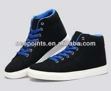2014 high quality men sneaker with leather upper and rubber outsole
