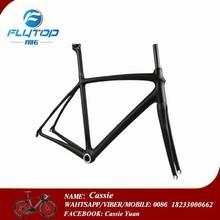 most popular products china 3K/12k/UD glossy/matte finished carbon fiber road bike frame 60cm