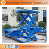 Stationary small hydraulic lift table scissor lift electric elevator table price