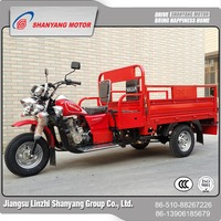 Latest made in China double seat tricycle heavy duty truck cargo tricycle