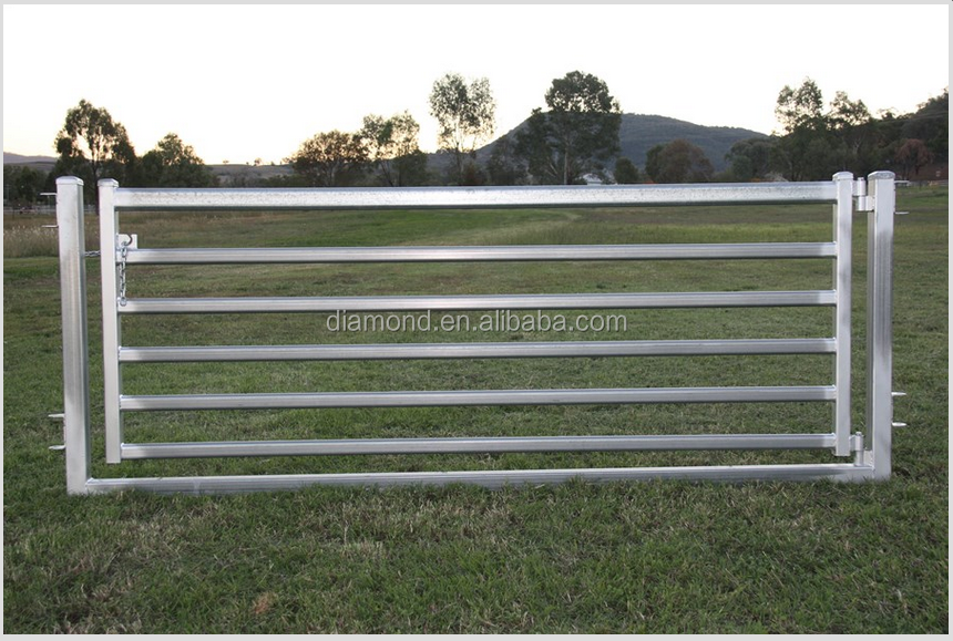 Portable Aluminum Fencing : Heavy duty portable metal galvanzied sheep yard fence