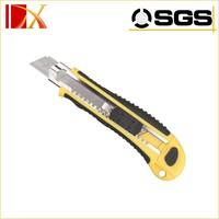 18mm steel blade cutter knife plastic utility knife