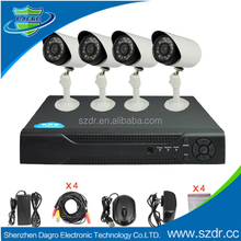 factory direct sale security wireless 4ch 700tvl high quality hd camera Dvr Kit