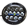 78W headlights with DRL amber turn signal for wrangler fit Harley, Patriot, liberty,toyota FJ cruiser