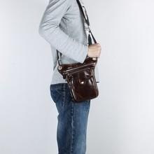 Wholesale Vintage Casual leather Bag mens genuine leather messenger bags genuine leather cheap shoulder bags