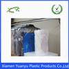 Clear poly laundry plastic roll dry cleaning bags for packing shirts,dresses