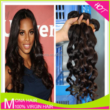 No Split End No Bad Smell 100% Unprocessed Indian Remy Hair Weave