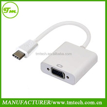 USB 3.1 Type C to VGA Female cable adapter