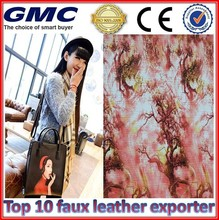 faux leather for table cover verified by alibaba