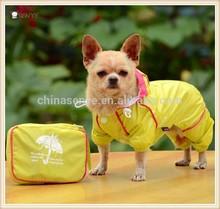 Chubasquero ropa impermeable PVC de doble espesor tela de malla para perros