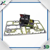 die-cut pp mateiral taj mahal 3d puzzle customized diy puzzle