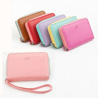 fashionable cute cheap girl wallets for Iphone 4s/5c/5s