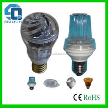 E27 5w xenon strobe flash led light , strobe light , strobe lamp