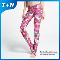 Printed women tubes sexy seamless legging