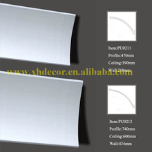 7.87feet used in Hall kitchen living room crown moulding