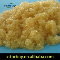 extraction of saponins resin Ion exchange resin, extract of crown of thorns