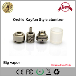 alibaba express Orchid atomizer&Orichid rda&Orchid kayfun atomizer mechanical mod electronic cigarette with high quality
