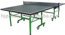 Indoor standard size NC painting factory manufacture high quality but low price foldable and movable Table tennis pingpong table