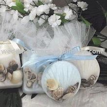 Double Seashell Soap Beach Wedding Favors