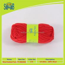 chinese imports wholesale bulky wool yarns knitting 100% wool yarn